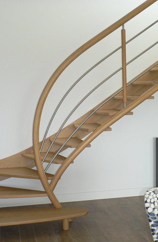 escalier contemporain arcangues